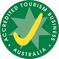 Acredited Tourism Business Logo
