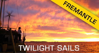 Click here to book a twilight sail out of Fremantle
