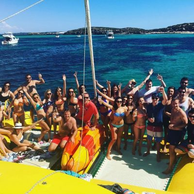 christmas party boat hire group